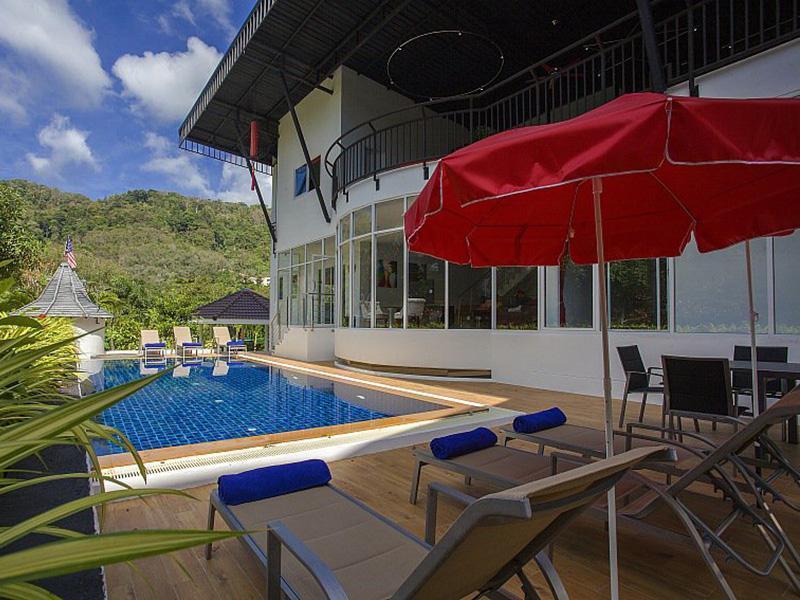 บ้านพักภูเก็ตมีสระว่ายน้ำส่วนตัว 10-15 คน